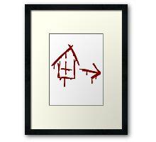 Left 4 Dead - Safehouse [red] Framed Print