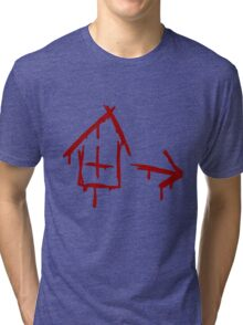 Left 4 Dead - Safehouse [red] Tri-blend T-Shirt