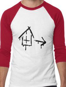Left 4 Dead - Safehouse [black] Men's Baseball ¾ T-Shirt