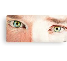Benedict Cumberbatch's eyes Canvas Print