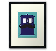 Classy TARDIS Framed Print