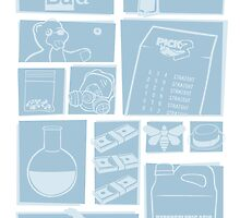 Breaking Bad - Icons by somethingdiffer