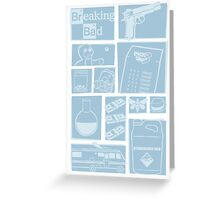 Breaking Bad - Icons Greeting Card