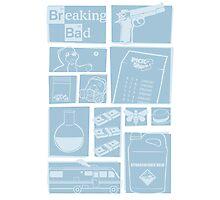 Breaking Bad - Icons Photographic Print