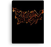 Brain Burst Canvas Print