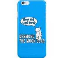 Desmond the Moon Bear iPhone Case/Skin