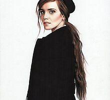 Emma Watson by Cécile Pellerin