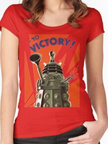 Dalek Victory Women's Fitted Scoop T-Shirt