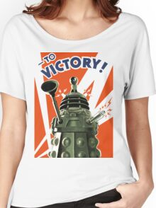 Dalek Victory Women's Relaxed Fit T-Shirt