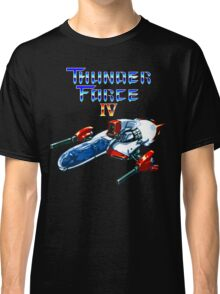 Thunder Force IV (Mega Drive Title Screen) Classic T-Shirt