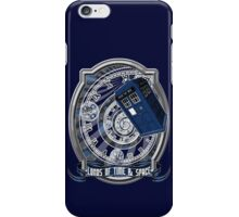 Doctor Who - Time Line Swirl iPhone Case/Skin