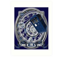 Doctor Who - Time Line Swirl Art Print