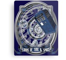 Doctor Who - Time Line Swirl Metal Print