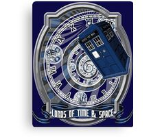 Doctor Who - Time Line Swirl Canvas Print