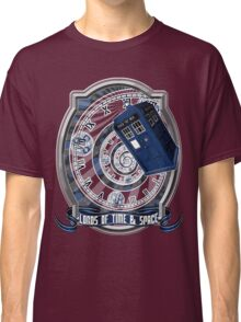 Doctor Who - Time Line Swirl Classic T-Shirt