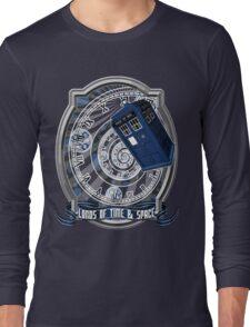 Doctor Who - Time Line Swirl Long Sleeve T-Shirt