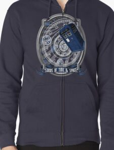 Doctor Who - Time Line Swirl T-Shirt