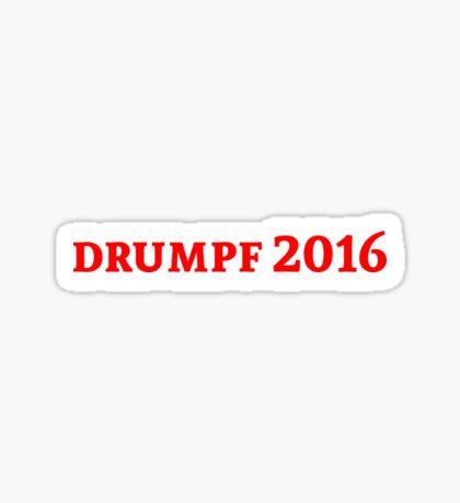 drumpf Sticker