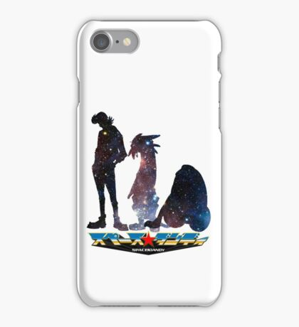 Space Dandy and His Brave Space Crew iPhone Case/Skin