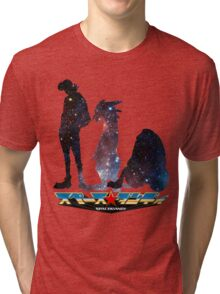 Space Dandy and His Brave Space Crew Tri-blend T-Shirt