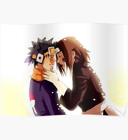 Obito & Rin Poster