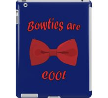 Bowties are cool iPad Case/Skin