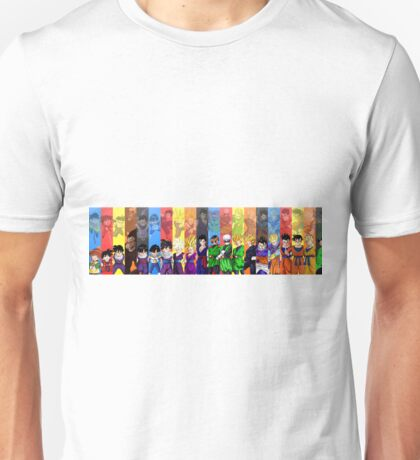 Dragon Ball Z Family Unisex T-Shirt