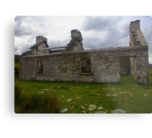 Ruined Cottage at Cashelnagor, County Donegal, Ireland Metal Print