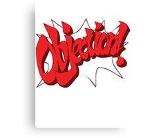 Objection! Canvas Print