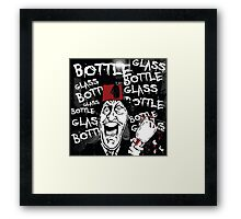 Glass Bottle Bottle Glass - Tommy Cooper Framed Print