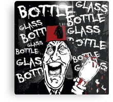 Glass Bottle Bottle Glass - Tommy Cooper Metal Print