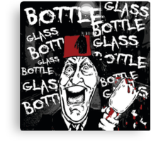 Glass Bottle Bottle Glass - Tommy Cooper Canvas Print
