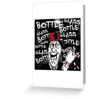 Glass Bottle Bottle Glass - Tommy Cooper Greeting Card