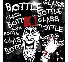 Glass Bottle Bottle Glass - Tommy Cooper Photographic Print