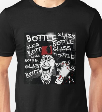 Glass Bottle Bottle Glass - Tommy Cooper Unisex T-Shirt