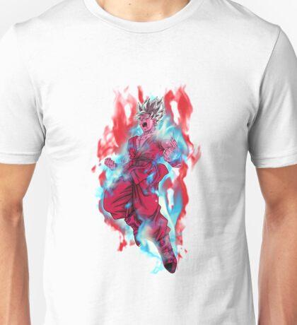 Goku Super Saiyan Blue Kaioken Unisex T-Shirt