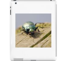 Carabid Beetle iPad Case/Skin