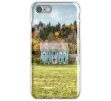 House by the woods iPhone Case/Skin
