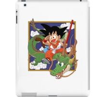 Goku, Kinto-un and Sheron iPad Case/Skin