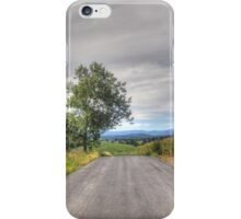 Tree On A Country Road iPhone Case/Skin