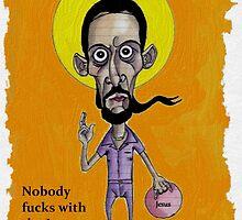 Jesus  by Iddoggy