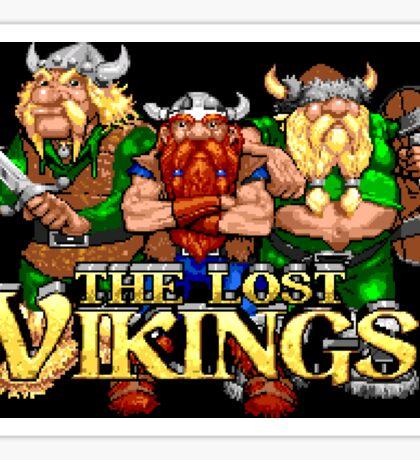 The Lost Vikings (Genesis Title Screen) Sticker