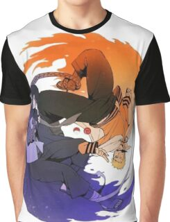 Naruto & Sasuke  Graphic T-Shirt