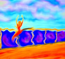 Dance through life by Sandy Maya Matzen