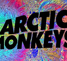 Psychedelic Arctic Monkeys by gbutz