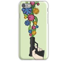 Floral Weaponry iPhone Case/Skin