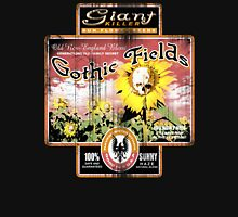 gothic sunflower fields Womens Fitted T-Shirt