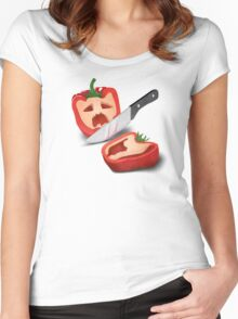 Vintage Paprika Kill Women's Fitted Scoop T-Shirt