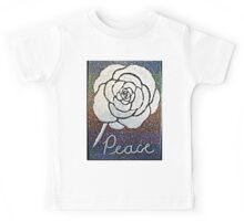 Peace Flower Kids Tee