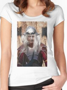 Monsters against Hobbits 2 FZ 1000 by Olao Olavia  c (h) Women's Fitted Scoop T-Shirt